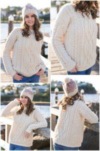 Crochet Sweater Pattern (5)