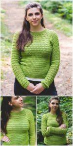 Crochet Sweater Pattern (9)