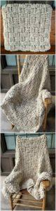 Easy Crochet Blanket Pattern (11)