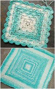 Easy Crochet Blanket Pattern (14)