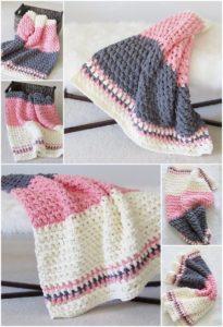 Easy Crochet Blanket Pattern (15)