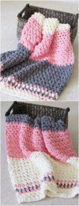 Easy Crochet Blanket Pattern (16)