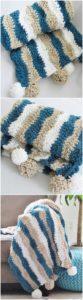 Easy Crochet Blanket Pattern (21)