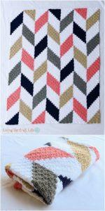 Easy Crochet Blanket Pattern (31)