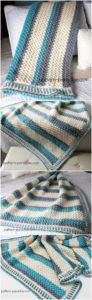 Easy Crochet Blanket Pattern (32)