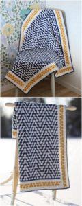 Easy Crochet Blanket Pattern (36)