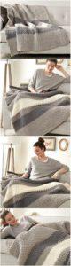 Easy Crochet Blanket Pattern (37)