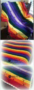 Easy Crochet Blanket Pattern (38)
