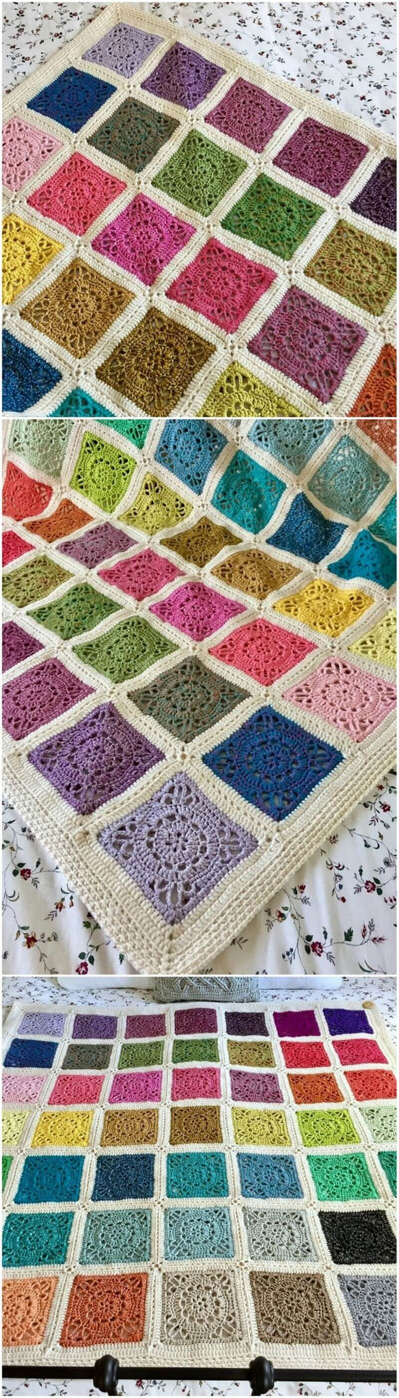 Easy Crochet Blanket Pattern (39)