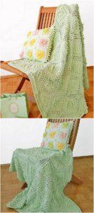 Easy Crochet Blanket Pattern (4)
