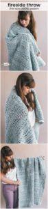 Easy Crochet Blanket Pattern (43)