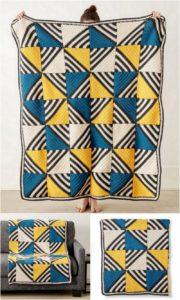 Easy Crochet Blanket Pattern (45)
