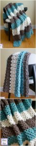 Easy Crochet Blanket Pattern (48)
