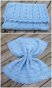 Easy Crochet Blanket Pattern (53)