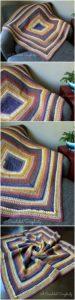 Easy Crochet Blanket Pattern (54)