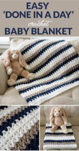 Easy Crochet Blanket Pattern (57)