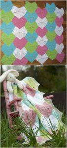Easy Crochet Blanket Pattern (9)