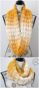 Easy Crochet Scarf Pattern (1)