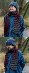 Easy Crochet Scarf Pattern (13)