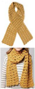Easy Crochet Scarf Pattern (14)