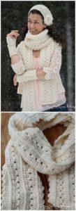 Easy Crochet Scarf Pattern (16)