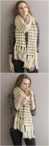 Easy Crochet Scarf Pattern (28)