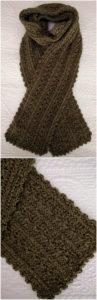 Easy Crochet Scarf Pattern (33)