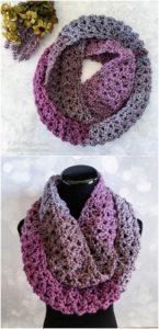 Easy Crochet Scarf Pattern (34)