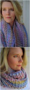 Easy Crochet Scarf Pattern (4)