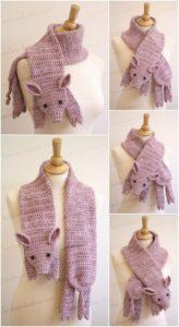 Easy Crochet Scarf Pattern (44)