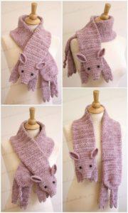 Easy Crochet Scarf Pattern (45)