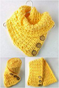 Easy Crochet Scarf Pattern (47)