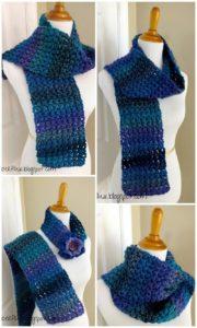Easy Crochet Scarf Pattern (48)