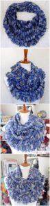 Easy Crochet Scarf Pattern (5)