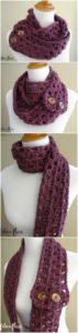 Easy Crochet Scarf Pattern (56)