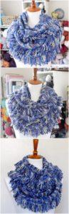 Easy Crochet Scarf Pattern (6)