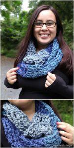 Easy Crochet Scarf Pattern (60)