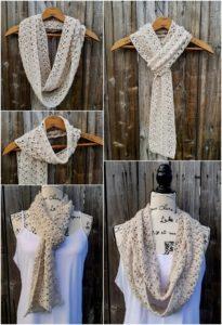 Easy Crochet Scarf Pattern (65)