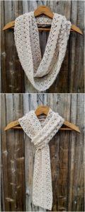 Easy Crochet Scarf Pattern (66)