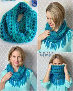 Easy Crochet Scarf Pattern (9)