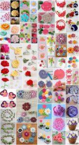 30+ Beautiful Crochet Flower Free Patterns