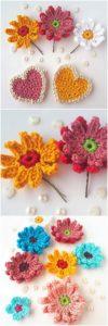 Crochet Flower Pattern (9)